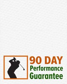 90-Day Performance Guarantee at Rock Bottom Golf!