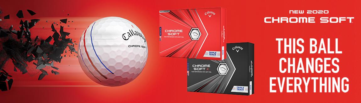 Callaway Chrome Soft Golf Balls At Rock Bottom Golf