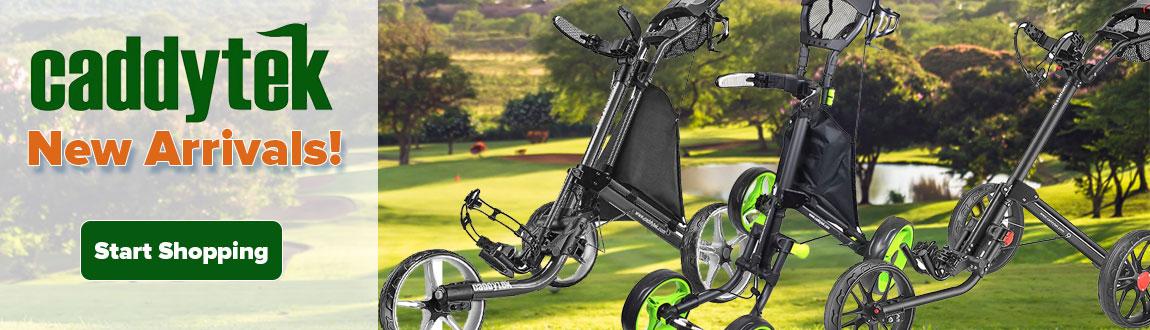 CaddyTek Golf Carts & Accessories at Rock Bottom Golf