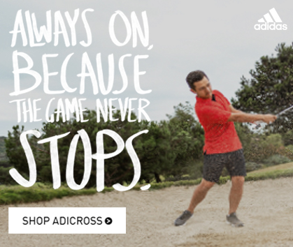 Always On Because the Game Never Stops! Adidas Adicross! - Shop Now!