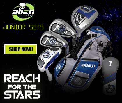 Reach For The Stars! Alien Golf Junior Sets! Shop Now!