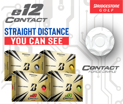 Bridgestone Golf E12 Golf Balls! Straight Distance You Can See! Shop Now!