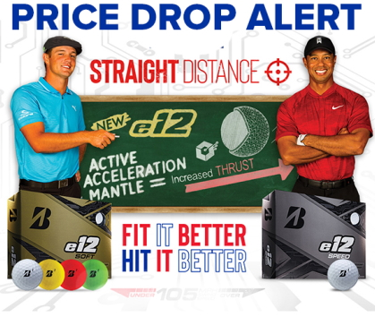New Bridgestone E12 Golf Balls Price Drop Alert! Shop Now!
