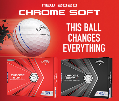 Callaway Chrome Soft Golf Balls! This Ball Changes Everything! Shop Now!