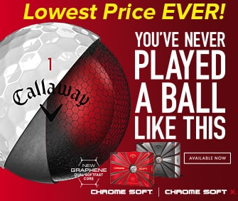 Callaway Chrome Soft Lowest Price Ever!