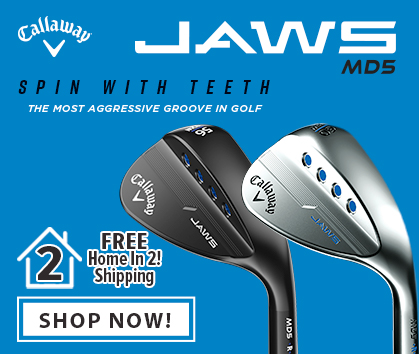 Callaway MD5 Jaws Wedges Now Available At RBG!