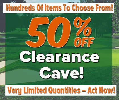 50% Off Clearance Cave! - Shop Now!