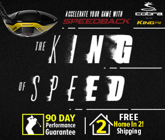 FREE Home In 2! Shipping On Cobra King F9 At RBG!