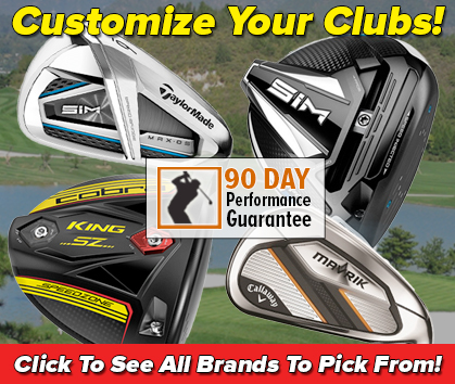 Customize Your Clubs At Rock Bottom Golf! Learn More!