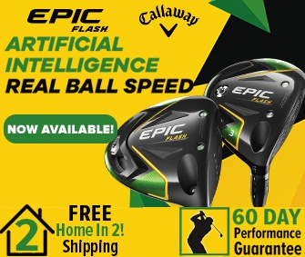 Callaway Epic Flash Plus FREE Home In 2! Shipping!