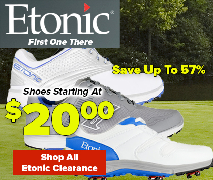 Etonic Closeouts! Golf Shoes Starting at $29.99
