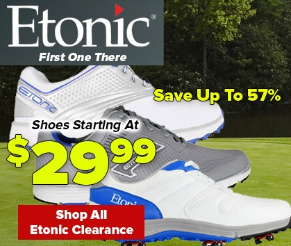 Save HUGE On Etonic Shoe Closeouts - Shop Now!