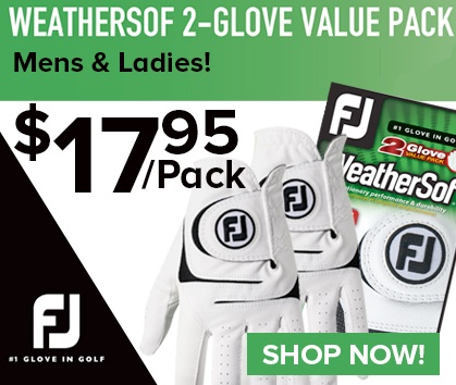 Save On FootJoy WeatherSof Gloves - Shop Now!