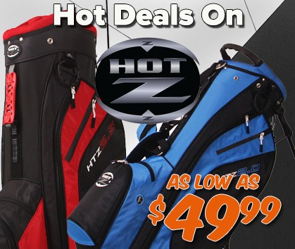 Save HUGE On Hot-Z Golf Bags!