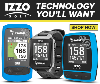 IZZO Golf Electronics! Technology You'll Want! Shop Now!