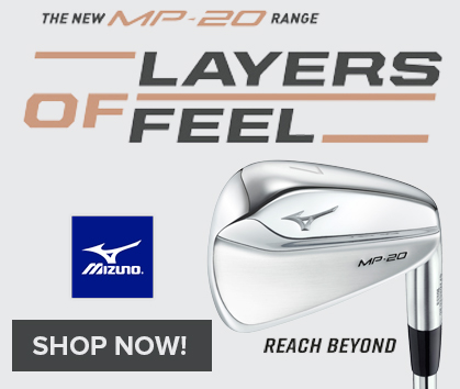 Get Your Mizuno MP20 Irons Now At RBG!