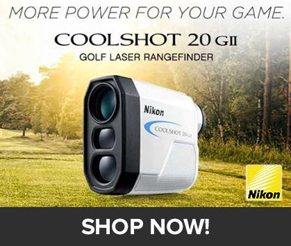 Nikon Coolshot 20 GII Golf Laser Rangefinder! More Power For Your Game! - SHOP NOW!