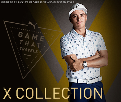 Puma - Game That Travels - X Collection at Rock Bottom Golf - Shop Now!