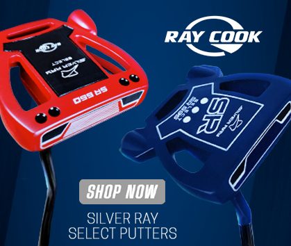Ray Cook Golf Silver Ray Sellect Golf Putters! New Navy Color For 2021! Shop Now!