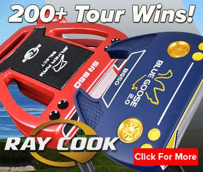 Ray Cook Golf Putters! 200+ Tour Wins! Shop Now!