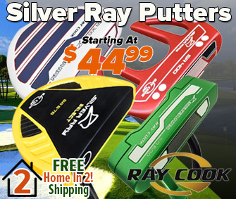 FREE Home In 2! Shipping On Ray Cook Silver Ray Putters!