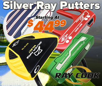 Shop Silver Ray Putters Available At RBG!