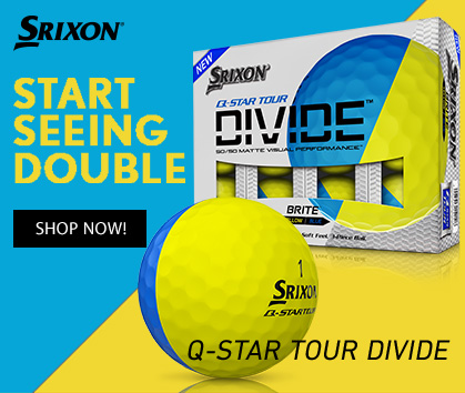 Srixon Golf Divide Golf Balls! Start Seeing Double! Shop Now!