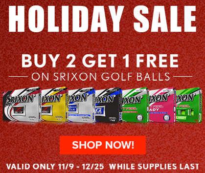 Buy 2 Get 1 Dozen FREE Srixon Golf Balls - Shop Now!