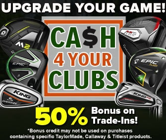 Upgrade YOUR Game w/ RBG'S Trade Up Program - 50% BONUS On Trade-Ins!
