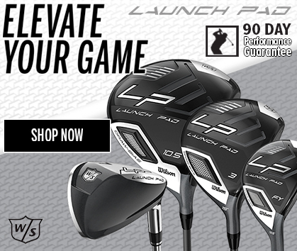Elevate Your Game! - Wilson Launch Pad Golf Clubs Now Available at Rock Bottom Golf - Shop Now!