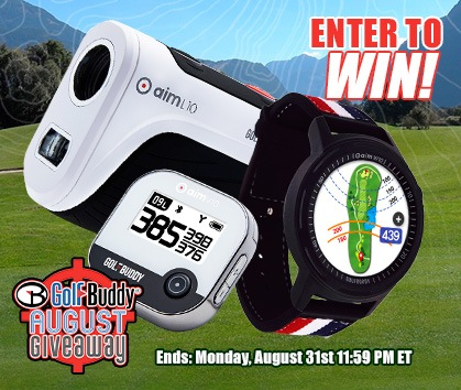 Enter To Win Golf Buddy August Giveaway! Enter Now!