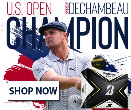 US Open Champion, Bryson Dechambeau! Bridgestone Tour B Golf Balls! Shop Now!
