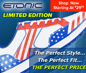 Etonic Shoes at Rock Bottom Golf - The perfect Style, The perfect Fit, The PERFECT Price! - SHOP NOW!