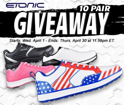 Enter To Win FREE Etonic Golf Shoes From Rock Bottom Golf!