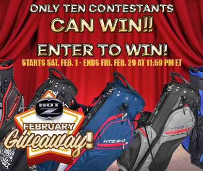 Enter To Win FREE Hot-Z Golf Bags At Rock Bottom Golf - Sign Up Now!