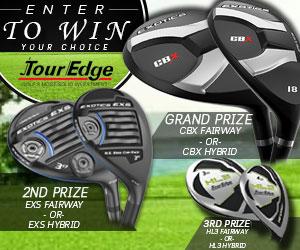 Enter to WIN a FREE Tour Edge CBX Fairway or Hybrid!