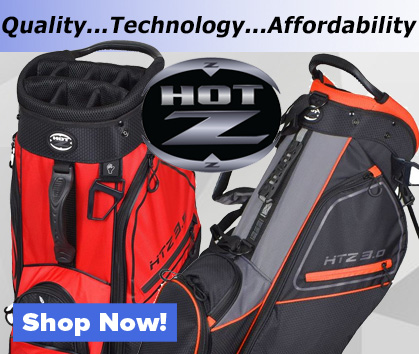 Hot-Z Golf Bags! Quality, Technology, Affordability! Shop Now!