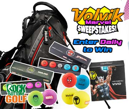 Volvik Marvel Sweepstakes! Enter Daily To Win! Enter Now!