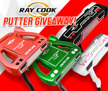 Ray Cook Golf Putters Giveaway! Enter Today!