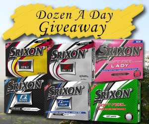 Enter To WIN Srixon Giveaway!