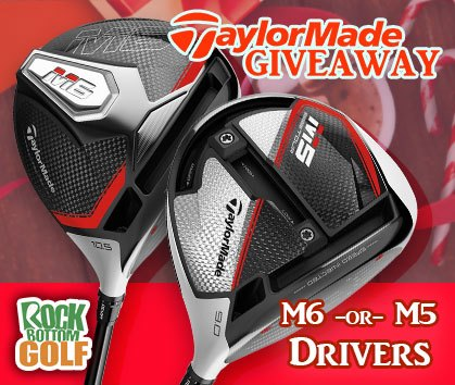 TaylorMade Giveaway - Enter To Win Today!