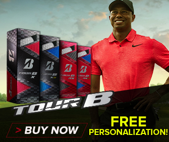 Bridgestone Tour-B Series Golf Balls w/ FREE Personalization at Rock Bottom Golf!