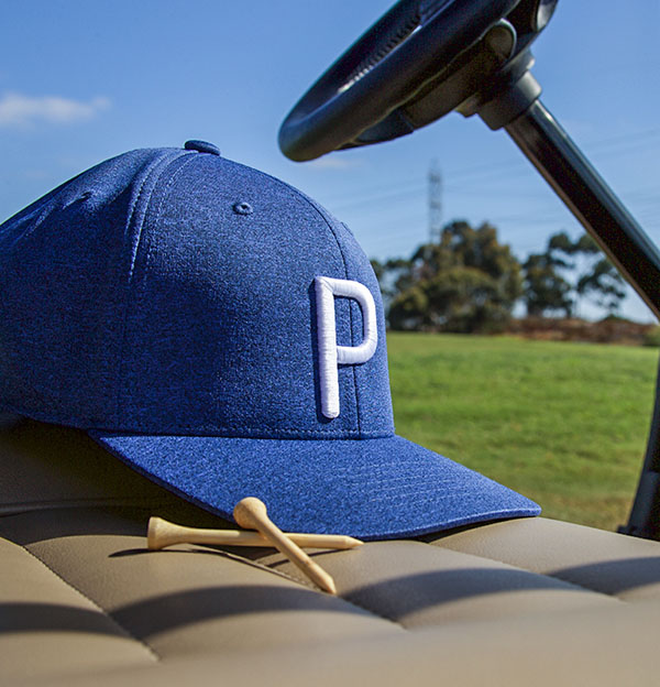 "bdb04a4030d This hat features an all new 3D P logo and FlexFit 110 technology for the  ultimate one-size-fits-all comfort. If you wear the letter ""P"" on your hat"