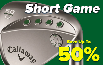 Save Up To 50% On Putters & Wedges