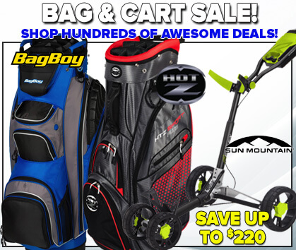 Bag & Cart Sale!