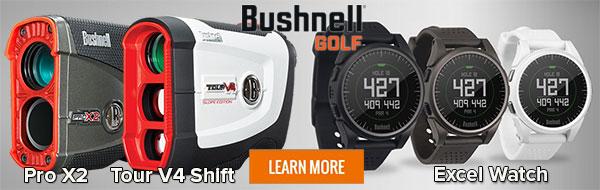Bushnell Golf Rangefinders, Golf GPS & Golf Electronics at Rock Bottom Golf!