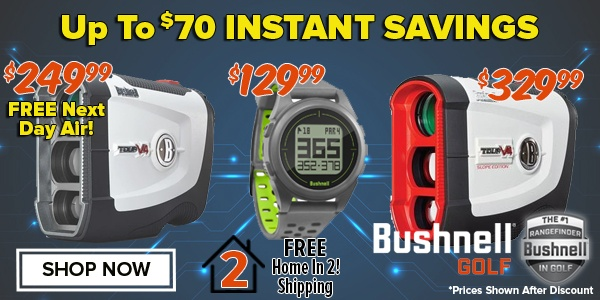 Up To $70 OFF Bushnell Electronics!