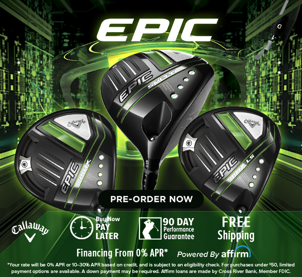 Callaway EPIC SPEED Golf Clubs at Rock Bottom Golf