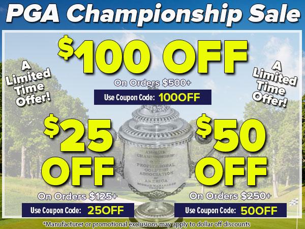 PGA Championship Sale!