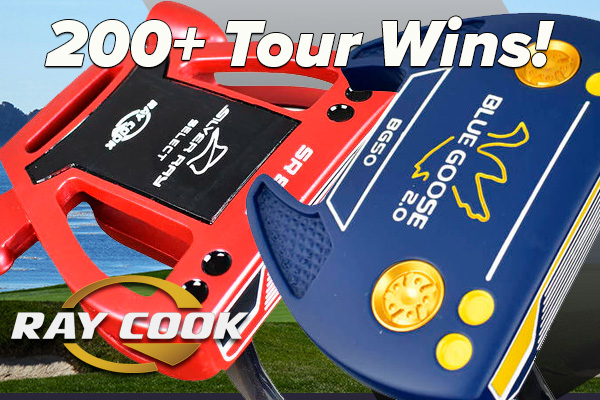 Ray Cook Putters at Rock Bottom Golf!